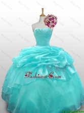 2015 Elegant Quinceanera Prom Dresses with Paillette and Ruffled Layers SWQD010-7FOR