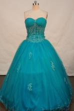 Beautiful Ball gown Sweetheart-neck Floor-length Quinceanera Dresses Style FA-C-104