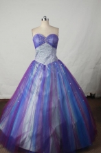 Beautiful Ball gown Sweetheart-neck Floor-length Quinceanera Dresses Style FA-W-381