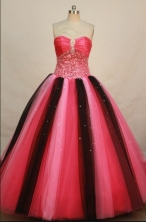 Brand new Ball gown Sweetheart-neck Floor-length Quinceanera Dresses Style FA-C-016