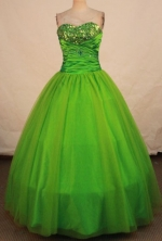 Cheap Ball gown Sweetheart-neck Floor-length Quinceanera Dresses Style FA-W-379