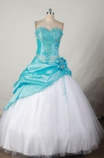 Fashionable Ball gown Sweetheart neck Floor-Length Quinceanera Dresses Style FA-Y-05