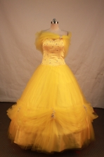 Fashionable Ball gown Sweetheart neck Floor-Length Quinceanera Dresses Style FA-Y-132