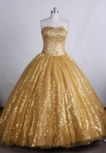 Modest Ball gown Sweetheart neck Floor-Length Quinceanera Dresses Style FA-Y-22