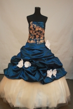 New Ball gown Strapless Floor-Length Quinceanera Dresses Style FA-Y-152