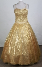 Popular Ball Gown Strapless Floor-length Quinceanera Dress Y0426017