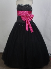 Popular Ball gown Sweetheart Floor-length Quinceanera Dresses Style FA-W-r13