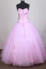 Pretty A-line Sweetheart Floor-length Quinceanera Dress ZQ12426047