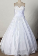 Wonderful Ball gown Sweetheart-neck Floor-length Quinceanera Dresses Style FA-W-380