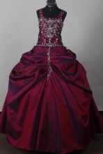 2012 Popular Ball Gown Square Floor-Length Quinceanera Dresses Style JP42686