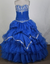 2012 Pretty Ball Gown Sweetheart Floor-Length Quinceanera Dresses Style JP42660