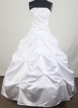 2012 Unique Ball Gown Strapless Floor-Length Quinceanera Dresses Style JP42635