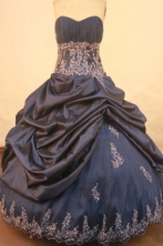 Affordable Ball gown Strapless Floor-length Quinceanera Dresses Style FA-W-397