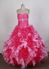 Luxurious Ball Gown Sweetheart Floor-length Quinceanera Dress ZQ12426025