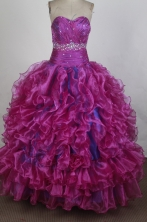 Perfect Ball gown Sweetheart Floor-length Quinceanera Dresses Style FA-W-r40