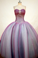 Beautiful Ball Gown Sweetheart-neck Floor-length Quinceanera Dresses Style FA-W-325