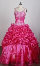 Beautiful Ball gown Strap Floor-length Quinceanera Dresses Style FA-W-r50
