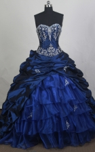 Beautiful Ball gown Sweetheart-neck Chapel Train Quinceanera Dresses Style FA-W-r16