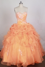Brand New Ball gown Sweetheart-neck Floor-length Quinceanera Dresses Style FA-W-r55