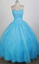 Discount Ball gown Sweetheart-neck Floor-length Quinceanera Dresses Style FA-W-r29