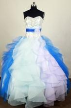 Exquisite Ball Gown Sweetheart Floor-length Quinceanera Dress LHJ42707