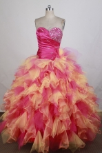 Gorgeous Ball Gown Sweetheart Floor-length Quinceanera Dress ZQ12426028