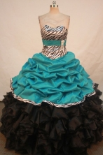 Luxurious Ball Gown Sweetheart Floor-length Quinceanera Dresses  Style FA-Z-0283