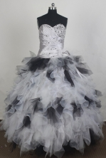 Luxury Ball Gown Sweetheart Floor-length Quinceanera Dress ZQ12426076