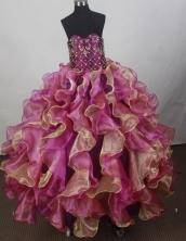 Luxury Ball Gown Sweetheart Floor-length Quinceanera Dress ZQ1242609