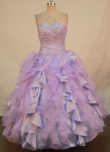 Luxury Ball Gown Sweetheart Floor-length Quinceanera Dresses  Beading Style FA-Z-0274