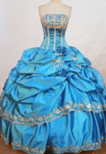 Popular Ball Gown Strapless Floor-length Quinceanera Dresses Style FA-W-304