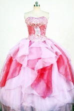 Popular Ball Gown Strapless Floor-length Quinceanera Dresses Style FA-W-318