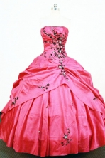Pretty Ball Gown Strapless Floor-length Quinceanera Dresses Style FA-W-329