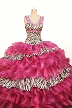 Romantic Ball Gown Strap Floor-length Quinceanera Dresses Style FA-W-352