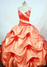 The Super Hot Ball Gown Sweetheart Floor-length Quinceanera Dresses Beading Style FA-Z-0271