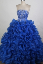 The Super Hot Ball gown Strapless Floor-length Quinceanera Dresses Style FA-W-r30