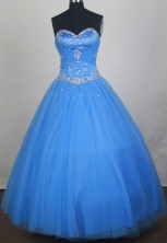 2012 Exquisite Ball Gown Sweetheart Neck Floor-Length Quinceanera Dresses Style JP42602