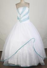 Pretty Ball Gown Strapless Floor-length Quinceanera Dress ZQ12426059