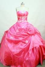 Sweet Ball gown Strapless Floor-length Quinceanera Dresses Style FA-W-237