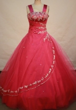 Beautiful Ball gown Strap Floor-length Quinceanera Dresses Style FA-C-020