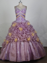 Beautiful Ball gown Strap Floor-length Quinceanera Dresses Style FA-W-r94