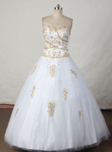 Beautiful Ball gown Sweetheart-neck Floor-length Quinceanera Dresses Style FA-W-388