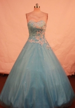 Beautiful Ball gown Sweetheart-neck Floor-length Quinceanera Dresses Style FA-W-393