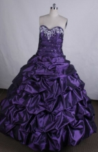 Discount Ball gown Sweetheart neck Floor-Length Quinceanera Dresses Style FA-Y-115