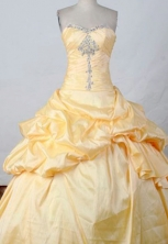 Discount Ball gown Sweetheart neck Floor-Length Quinceanera Dresses Style FA-Y-215