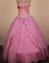 Exclusive Ball Gown Sweetheart Neck Floor-Length Quinceanera Dresses Style X042488