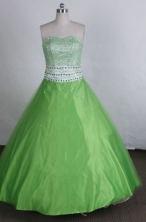 Exquisite Ball gown Sweetheart neck Floor-Length Quinceanera Dresses Style FA-Y-209