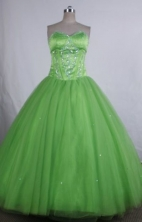 Popular Ball gown Sweetheart neck Floor-Length Quinceanera Dresses Style FA-Y-13