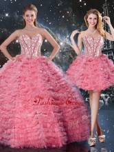 Beautiful Sweetheart Detachable Quinceanera Dresses for 2016 QDDTA92001FOR