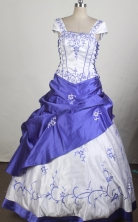 Classical Ball Gown Square Neck Floor-length Quinceanera Dress LZ42613